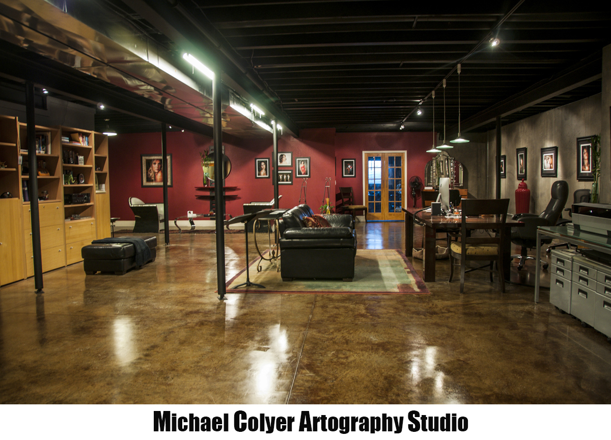 Michael Colyer Artography Studio